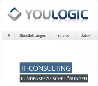 Ausschnitt Screenshot Youlogic