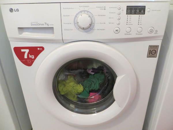 Frontlader Waschmaschine von LG