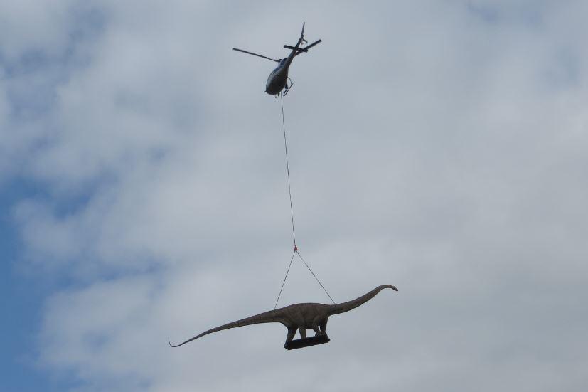 Dinosaurier Flug in Thalheim