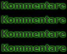 Kommentare in Neon grün